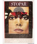 Movie Poster THE HITCHHIKER 1978 Milan Grygar Graphic Designer Large A1 ... - $296.00