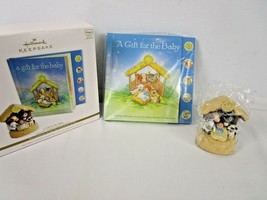 Hallmark Keepsake 2011 A gift For Baby Magic Interactive Storybook & Ornament - $18.99