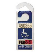Handicap Placard Hanger - $3.79