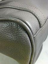 Erica Anenberg Grey Leather Cross Body Satchel Shoulder Bag image 10