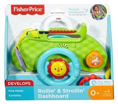 Fisher Price Rollin' & Strollin' Dashboard Activity Toy - DYW53 - NEW - $24.72