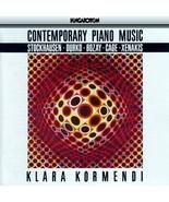Contemporary Piano Music [Audio CD] Klara Kormendi; Stockhausen; Zsolt D... - $12.86