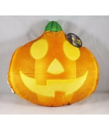 "12"" Almar Emoji Expressions Soft Plush Pillow  - New - Jack O'Lantern - $14.99"