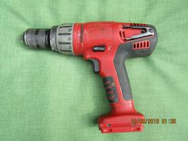 "Milwaukee V28 0724-20 1/2"" Hammer Drill Cordless No Battery Bare Tool - $29.99"