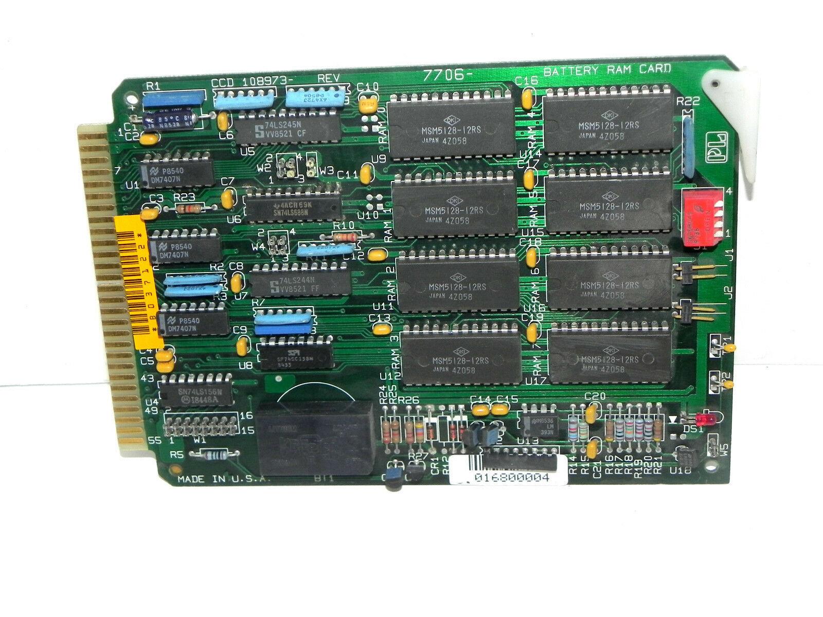 GRECON 108973 BATTERY RAM CARD