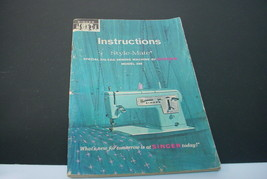 Singer Style-Mate 348 Instruction Book - $7.91