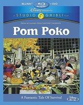 Disney Pom Poko  [Blu-ray + DVD]