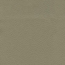 Ultrafabrics Upholstery Fabric Brisa Faux Leather Putty Tan 5.75 yds QG - $196.65