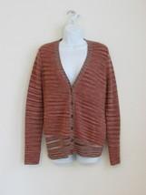 NWT MISSONI Multi Color Wool V Neck Long Sleeve Cardigan Sweater 40/6 - $271.59