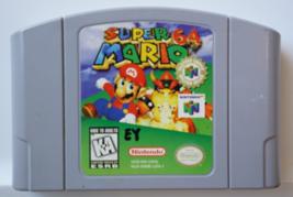 Super Mario 64 - Nintendo N64 AUTHENTIC Video Game Cart Cartridge - $25.99