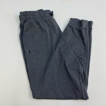 Under Armour Sweatpants Mens S Gray Drawstring Semi-Fitted Workout Activ... - $22.95