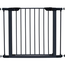 Midwest Homes For Pets Graphite Steel Glow Stripe Pet Gate 29h X 29-38w ... - $76.76