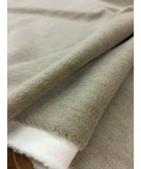 7.75 yds Herman Miller Allusion Smoky Taupe Alpaca Velvet Upholstery Fab... - $500.65