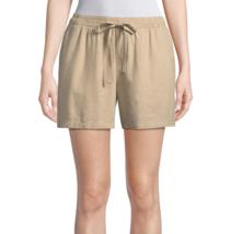St. John's Bay Pull-On Shorts New Size L New Biscotti - $14.99