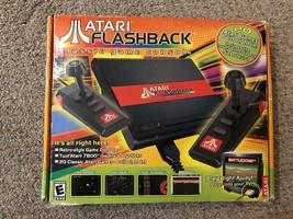 Atari Flashback Black Console 20 Built in Games w/Original Box - $9.89