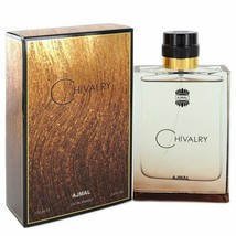 Ajmal Chivalry by Ajmal 3.4 oz 100 ml EDP Spray for Men New in Box - $30.35