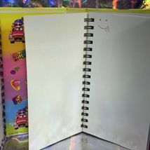EUC Vintage Lisa Frank Lily Luvabuy Trifold Planner / Organizer W Stickers! image 4