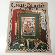 Nov / Dec 1989 Cross Country Stitching Magazine Jeremiah Junction - $9.74