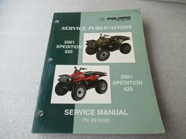 Polaris 2001 Xpedition 325/425 Service Manual P/N 9916585 - $16.66
