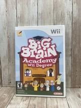 Big Brain Academy: Wii Degree (Nintendo Wii, 2007) - Complete (free Ship... - $7.87