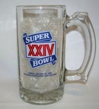 Super Bowl XXIV 1990 Mug Louisiana Superdome Harrahs Del Rio Laughlin Vi... - $9.99