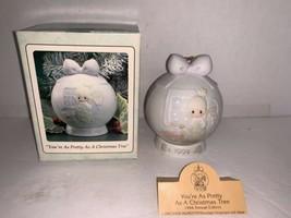 "Precious Moments ""You're As Pretty As A Christmas Tree"" #530387  1994 - $7.50"