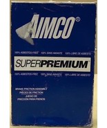 Aimco SPM181 Premium Front Disc Brake Pad Set Assembly - $49.16