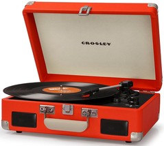 Crosley CR8005C-OR CRUISER II Portable Battery Powered Turntable Record Player - $80.95