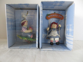 Kurt S. Adler 2004 Raggedy Ann & Andy Christmas Ornaments - $14.01