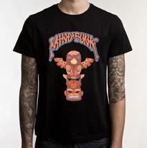 Mindfunk T-shirt (Size L ~Vintage Design) Glam Rock 80s. (Totem Pole Des... - $24.11