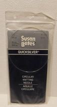 Susan Bates Quicksilver Circular Knitting Needle Size 2 - $5.24 CAD