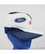 Ford Racing Blue White Baseball Cap Hat Mustang F150 Box Shipped - $17.99