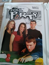 Nintendo Wii Pool Party ~ COMPLETE image 2