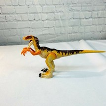 Mattel Jurassic Park World Legacy Collection Velociraptor Orange Rare - $40.09
