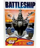 Battleship Board Game Fun On The Run Grab And Go Hasbro New - $14.99