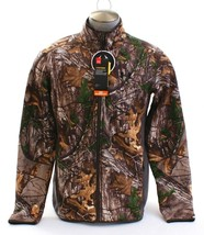 Under Armour Storm UA Stealth Fleece Realtree Zip Front Hunting Jacket M... - $149.99