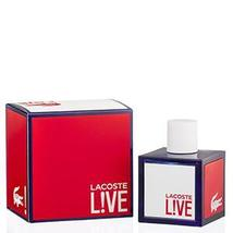 Lacoste Live by Lacoste Edt Spray For Men - $25.99