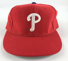 Philadelphia Phillies New Era 5950 Pro Model Baseball Hat Red - 7 1/8 Vi... - $29.69