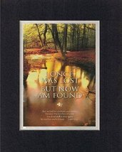 I Once Was Lost, But Now Am Found - Luke 15:32. . . 8 x 10 Inches Biblic... - $11.14