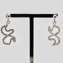 925 STERLING SILVER PENDANT EARRINGS BUTTERFLY WINGS MADE IN ITALY  MARIA IELPO image 3