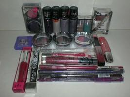 Hard Candy Eye Lip Nail Pink Purple Makeup Cosmetics Lot Of 22 Different Fresh - $28.01