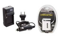 Battery + Charger for Casio EX-Z85SR EX-Z85PK EX-Z85BE EX-Z85 EX-Z85BN E... - $20.67