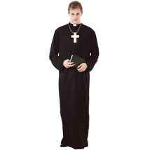 Prayerful Priest Adult Costume, M - $29.95