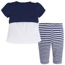 Mayoral Baby Girls 3-Piece Girl-Sandals Graphic Print Cardigan/Legging Set image 2
