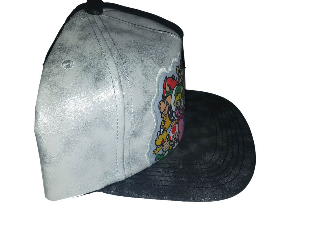 Super Mario 'Mario and Friends' Brand New Snapback Cap * Nintendo