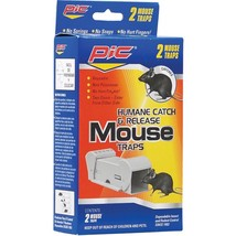 PIC POMT Humane Catch-&-Release Mouse Trap - $21.79