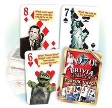 Flickback 1970 Trivia Playing Cards: 50th Birthday - $14.40