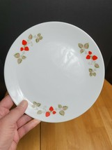 Noritake Casual China Berry Time Salad Plate White Red Strawberries - $5.89