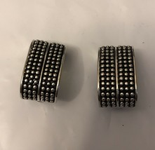 Vintage Earrings Silver Tone - $5.94