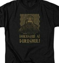The Lord of the Ring Dwarf Warrior Gimli graphic cotton t-shirt LOR1051 image 3